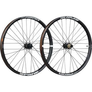 Spank Oozy Trail 395+ Boost Wheelset 27.5 Plus, black - Laufradsatz