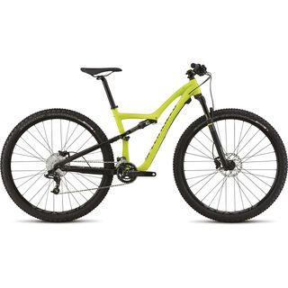 Specialized Rumor Comp 2015, Satin Hyper Green/Carbon Grey/Silver Dust/Black - Mountainbike