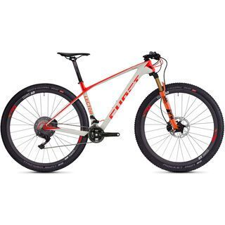 Ghost Lector 10.9 UC 2018, gray/neon red/orange - Mountainbike