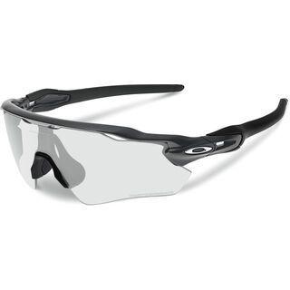 Oakley Radar EV Path, steel/Lens: clear black iridium photochromic - Sportbrille