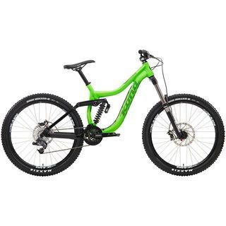 Kona Entourage 2014, matt fluoro green/black - Mountainbike
