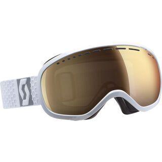 Scott Off-Grid, white/Lens: light sensitive bronze chrome - Skibrille