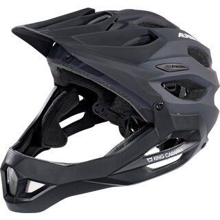Alpina King Carapax, black - Fahrradhelm