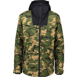 WearColour Block Jacket, forest - Snowboardjacke