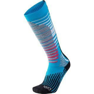 UYN Ski-/Snowboard Socks Lady turquoise/black
