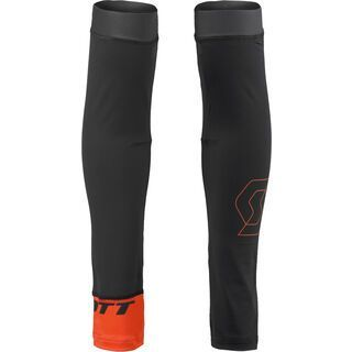 Scott RC Premium Light Armwarmers, black/tangerine orange - Armlinge