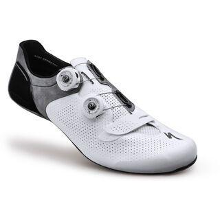 *** 2. Wahl *** Specialized S-Works 6, white - Radschuhe   Größe 43,5