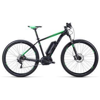Cube Reaction Hybrid HPA Race 29 Nyon 2015, black grey neongreen - E-Bike