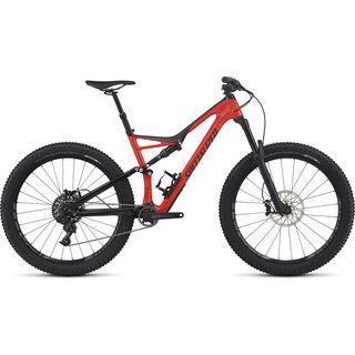 Specialized Stumpjumper FSR Expert Carbon 6Fattie 2017, red/black - Mountainbike