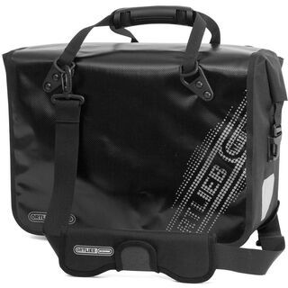 Ortlieb Office-Bag QL3 Black'n White, schwarz - Fahrradtasche