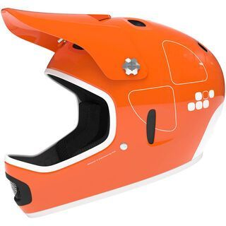 POC Cortex Flow, iron orange - Fahrradhelm