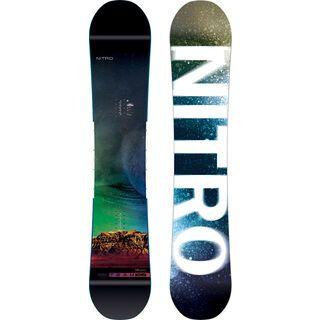 Nitro Team Exposure Gullwing Wide 2019 - Snowboard