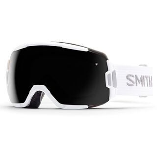 Smith Vice, white/blackout - Skibrille