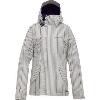 Burton Logan Jacket, Bright White Gamine - Snowboardjacke