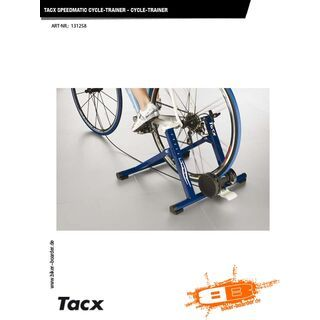 Tacx Speedmatic T1810 - Cycle-Trainer