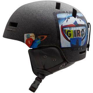 Giro Shiv 2, Matte Clear Boardwalk - Snowboardhelm