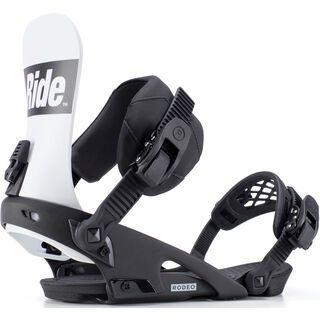 Ride Rodeo 2019, black - Snowboardbindung