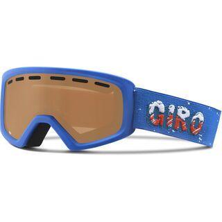 Giro Rev, blue icee/amber rose - Skibrille