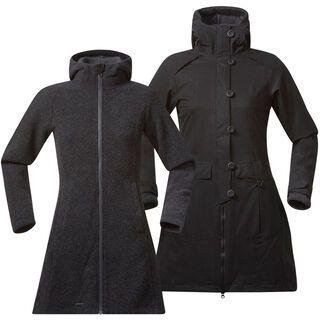 Bergans Bjerke 3in1 Lady Coat, dark grey - Mantel