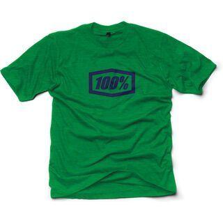 100% Essential, heather green - T-Shirt