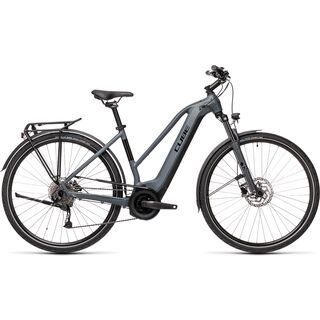 Cube Touring Hybrid ONE 400 Trapeze 2021, grey´n´black - E-Bike