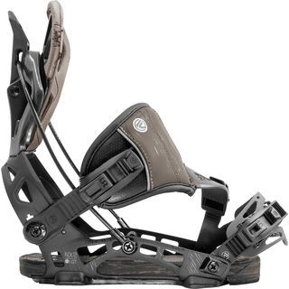 Flow NX2-GT Hybrid 2020, charcoal - Snowboardbindung