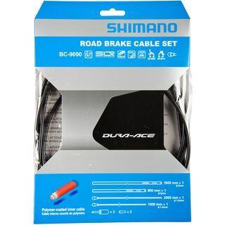 Shimano Bremszug-Set Dura-Ace Polymer beschichtet, grau