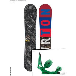 Set: Burton Blunt  +  Mission (494001S)