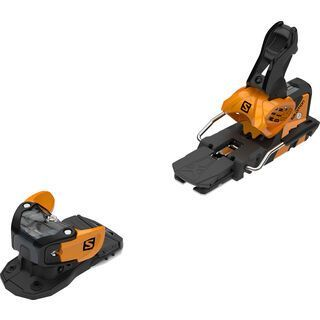 Salomon Warden MNC 13 100 mm, saffron/black - Skibindung