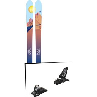 Set: Icelantic Oracle 88 2018 + Marker Squire 11 ID black