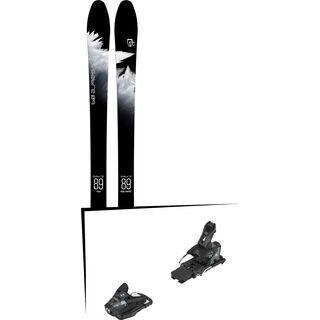 Set: Icelantic Sabre 89 2018 + Salomon STH2 WTR 13 black/dark grey