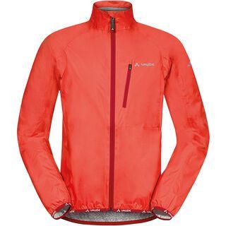 Vaude Men's Drop Jacket III, glowing red - Regenjacke