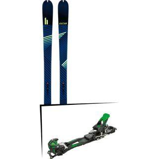 Set: Hagan Ride 83 2018 + Tyrolia Adrenalin 16 solid black flash green