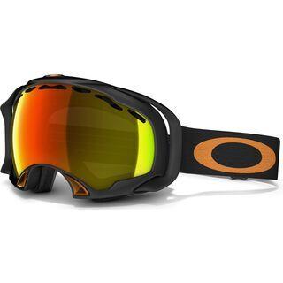 Oakley Splice, Matte Black/Fire Iridium - Skibrille