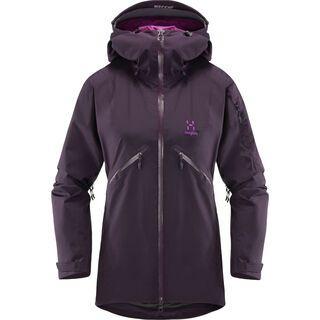 Haglöfs Khione Jacket Women, acai berry/lilac - Skijacke