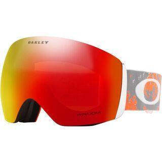 Oakley Flight Deck Prizm, arctic fracture orange/Lens: prizm torch iridium - Skibrille
