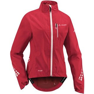 Vaude Womens Realto Jacket, red - Radjacke