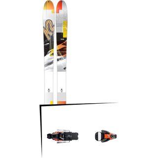 K2 SKI Set: Talkback 96 2016 + Salomon STH2 WTR 16