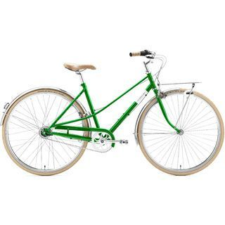 Creme Cycles Caferacer Lady Solo 2017, emerald green - Cityrad
