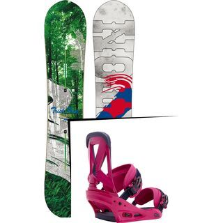 Set: Burton Trick Pony 2016 +  Custom (1191314S)