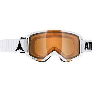 Atomic Savor M, white/Lens: orange - Skibrille