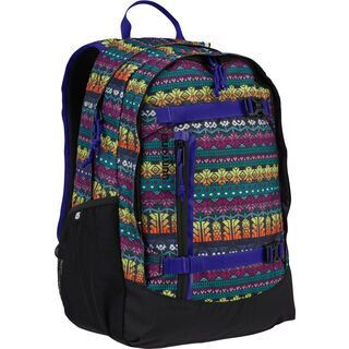 Burton Youth Day Hiker Pack, figaro stripe print - Rucksack