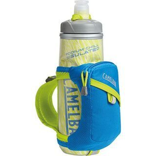 Camelbak Quick Grip inkl. Podium Chill Flasche 620ml, electric blue - Trinkflasche