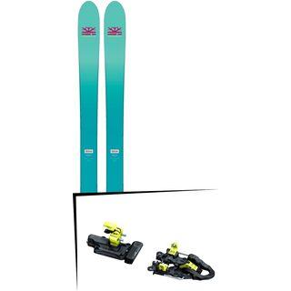 Set: DPS Skis Nina F99 Foundation 2018 + ATK Freeraider 14 2.0
