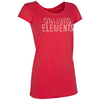 ION Tee SS Surfing Elements, hibiscus - T-Shirt