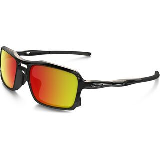 Oakley Triggerman, polished black/Lens: ruby iridium - Sonnenbrille