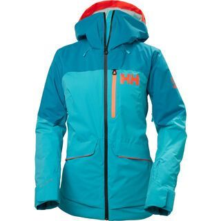 Helly Hansen W Powchaser Lifaloft Jacket, scuba blue - Skijacke