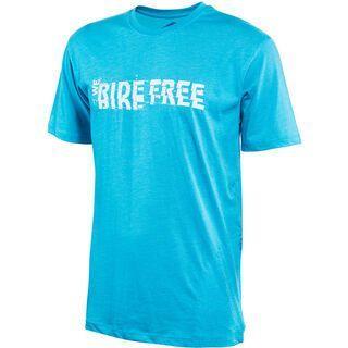 Platzangst We Ride Function T-Shirt, blue - Radtrikot