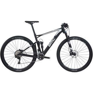 BMC Fourstroke 02 XT 2017, black white - Mountainbike