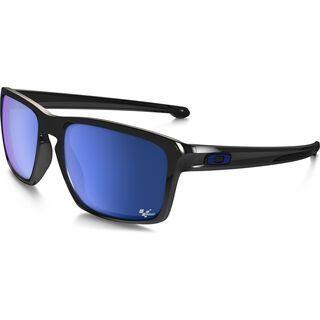 Oakley Sliver MotoGP, polished black/Lens: ice iridium - Sonnenbrille